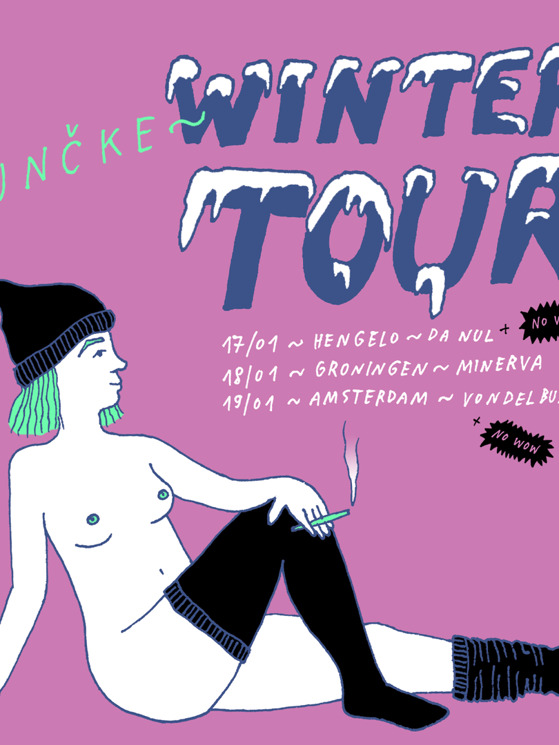 Winter Netherlands tour w Punčke