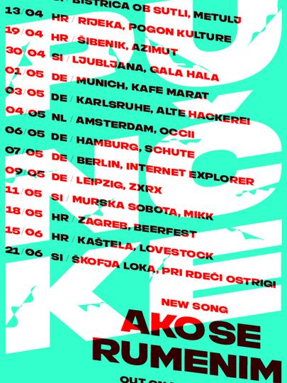 Punčke tour dates 2019