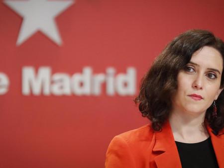 Díaz Ayuso anuncia ayudas de hasta 200.000 euros a sectores excluidos por el Gobierno central