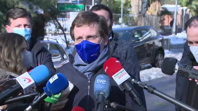 Alerta por lluvias y viento en Madrid