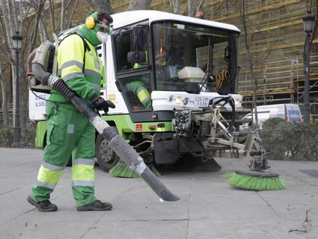 Madrid mucho más limpio