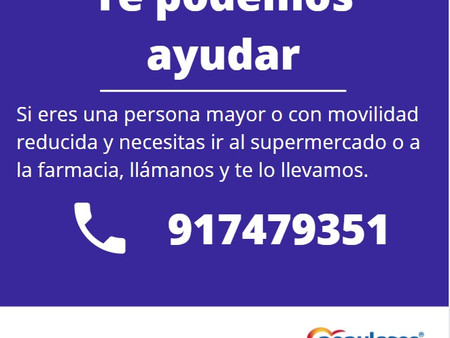 Te podemos ayudar