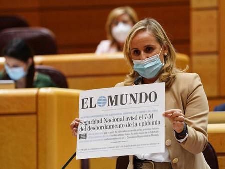 "Ana Camíns: ""Después de todas sus mentiras está desacreditado para ejercer de ministro de España"""