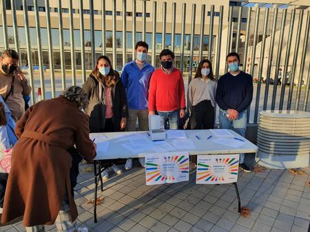 El Partido Popular de Barajas se echa a la calle contra la Ley Celaá