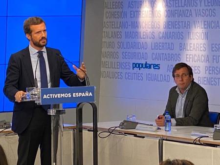 Casado nombra a José Luis Martínez-Almeida portavoz nacional del PP