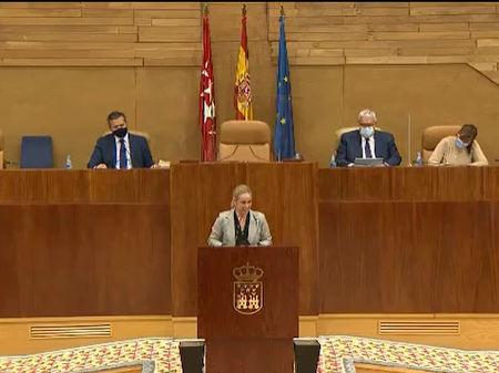 """Ana Camíns: """"La verdadera intención del Partido Socialista es freír a impuestos a los madrileños"""""""