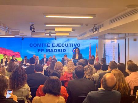 El PP de Madrid cierra su comité de campaña para las próximas elecciones
