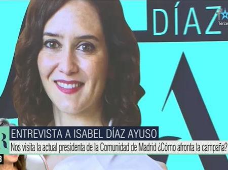 Entrevista a Isabel Díaz Ayuso en El Programa de Ana Rosa de Telecinco