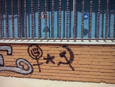 Martínez-Almeida declara la guerra abierta a los grafitis.