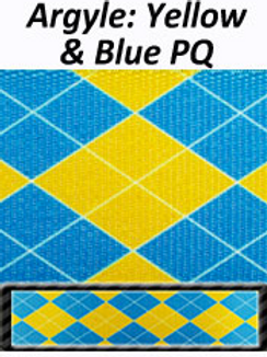 Blue/yellow pattern SUP Harness!