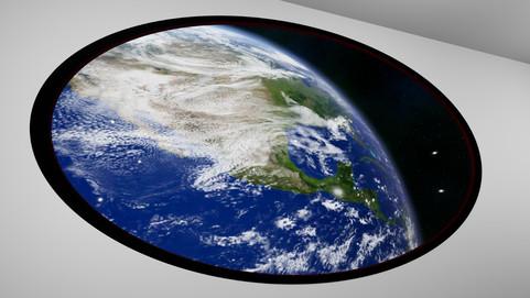 Earth Through the Window