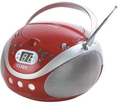 Portable CD Player with AM/FM Stereo Tuner (Coby)