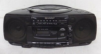 Portable CD Changer Stereo (Sharp)