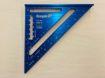 Empire 7 in. Laser Etched Aluminum Rafter Square