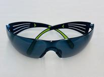 3M Black/Green, Brow Guard Eyewear with Gray Lens