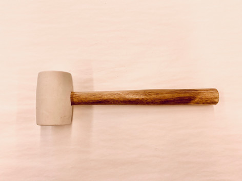 Anvil 16 oz. Rubber Mallet with White Head