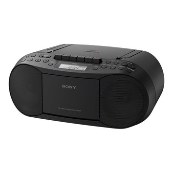 CD/Cassette Boombox with Radio (Sony)