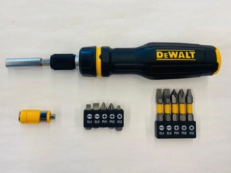 DeWALT MAXFIT Telescoping Ratcheting Multi-Bit Screwdriver
