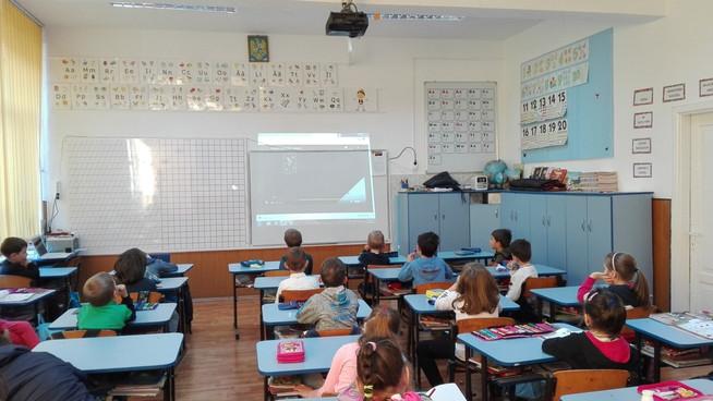 Pauze active,  Școala Gimnazială  Teodor Balan, Gura Humorului
