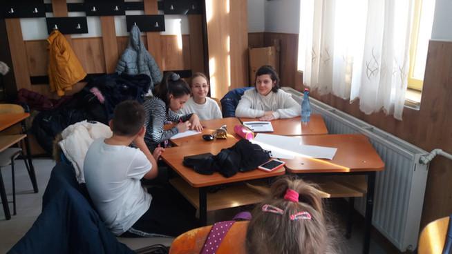 """Jocul ne face mai buni!, Școala Gimnazială """"Alexandru Ștefulescu"""", Tg-Jiu, Gorj"""