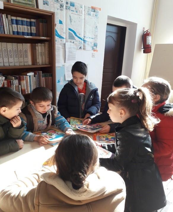 """""""Cum să învăț mai bine!"""" – O bibliotecă dotată,  Școala Gimnazială """"Nedelcu Chercea"""", Brăila"""