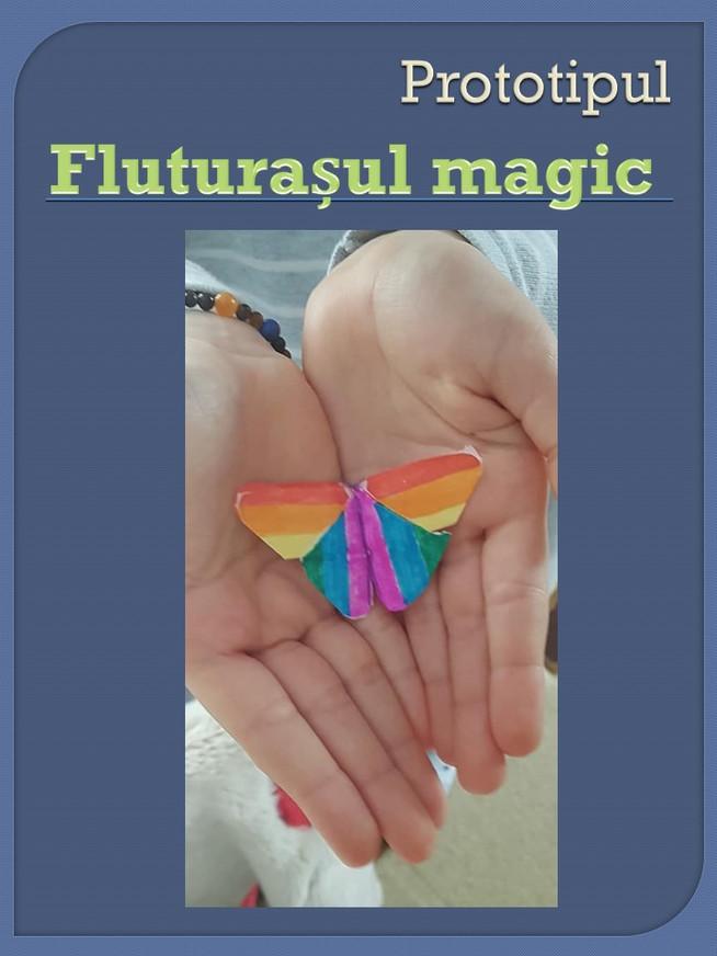 Fluturașul magic, Școala Gimnazială Boldești-Scăeni