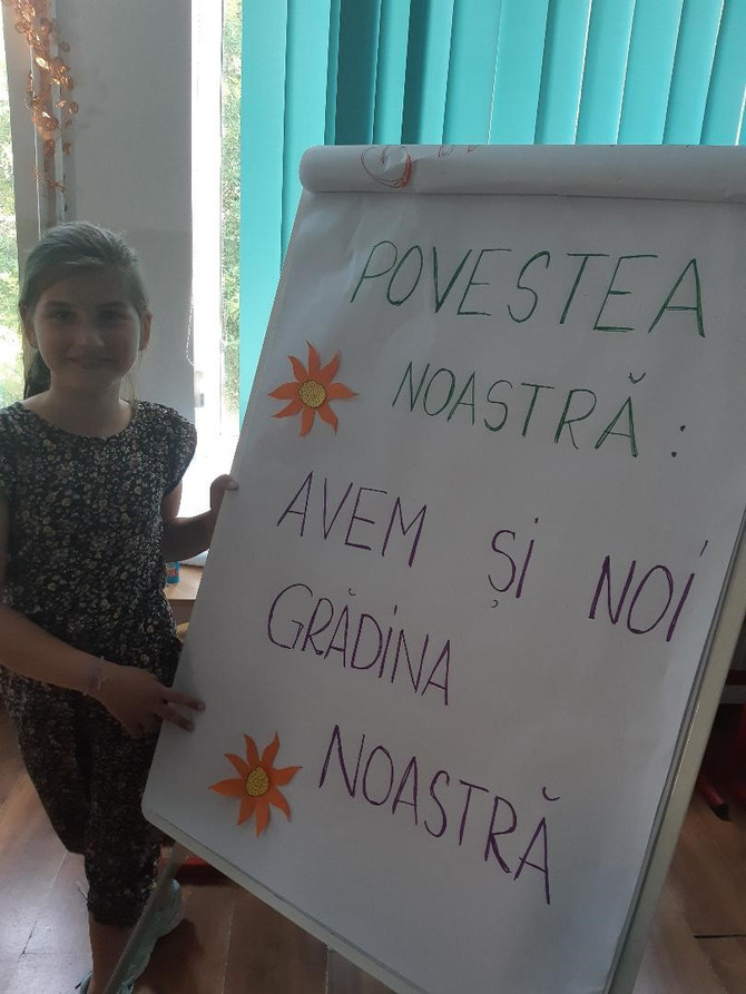 Avem și noi grădina noastră! Școala Gimnazială IONEL TEODOREANU, București