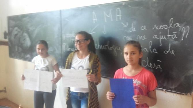 Familia AMA aduce ....un laptop! Școala Gimnaziala nr. 1 Vladesti, Argeș