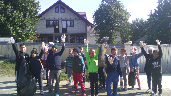 Supereroii - Prietenii Naturii, Școala Gimnazială Siminicea, Suceava