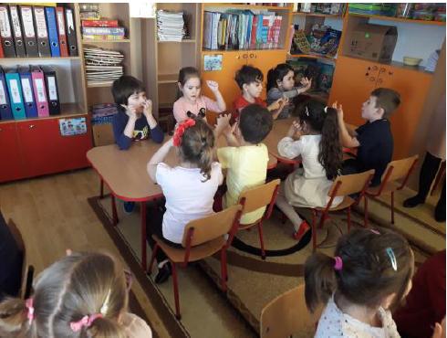 """Proiect educativ """"SUNT COPIL-EU POT!"""", Grădinița cu Program Prelungit Nr. 6 Buzău"""