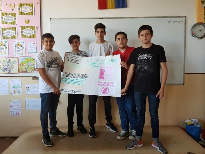 SUPERHEROES through movement, collaboration, friendship - Nr.1 Secondary School, Rm. Sărat, Buzău