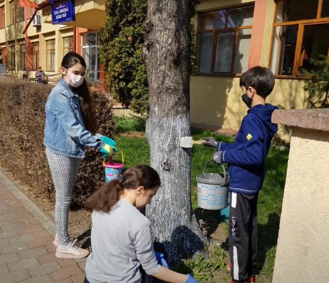 """""""EROI, FLORI, CĂȚEI..."""", Școala Gimnazială """"Bogdan Vodă"""" , Rădăuți"""