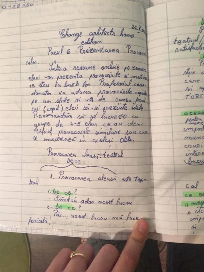 """Desen, Școala Gimnazială """"Andrei Mureșanu"""", Ploiești"""