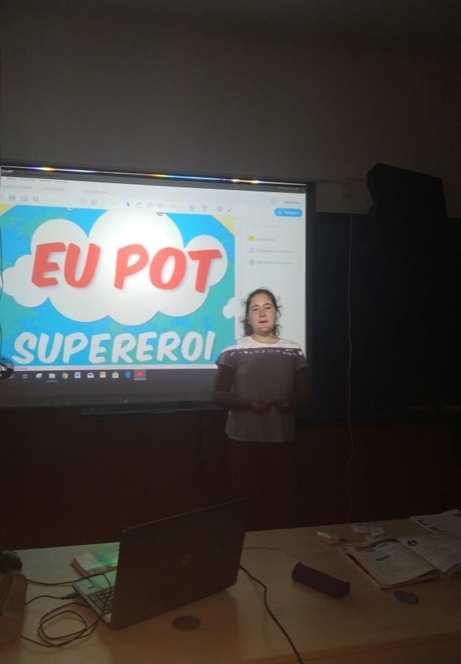 ALEEA SENZORIALÃ, Şcoala Gimnazialã nr. 1 Poenari, Giurgiu
