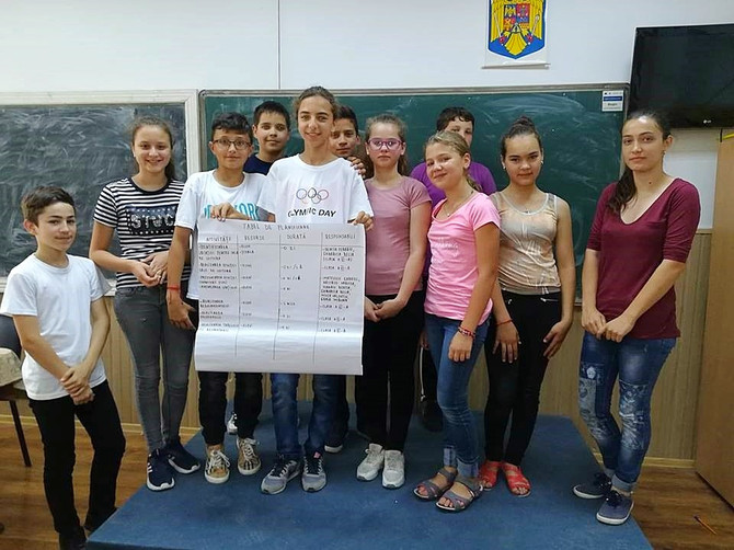 "Reading makes us wealthier,  ""I. Cîmpineanu"" Secondary School Cîmpineanca, Vrancea"