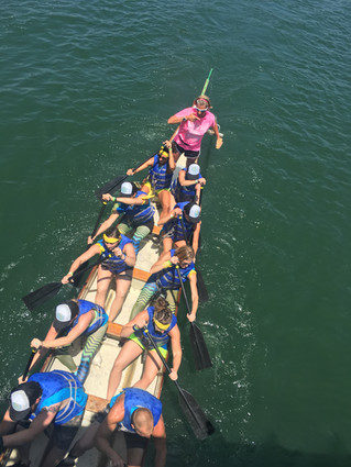 Dragon Boat Races - Team Finish Strong
