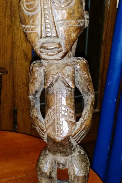 Luba Small Statue From Congo