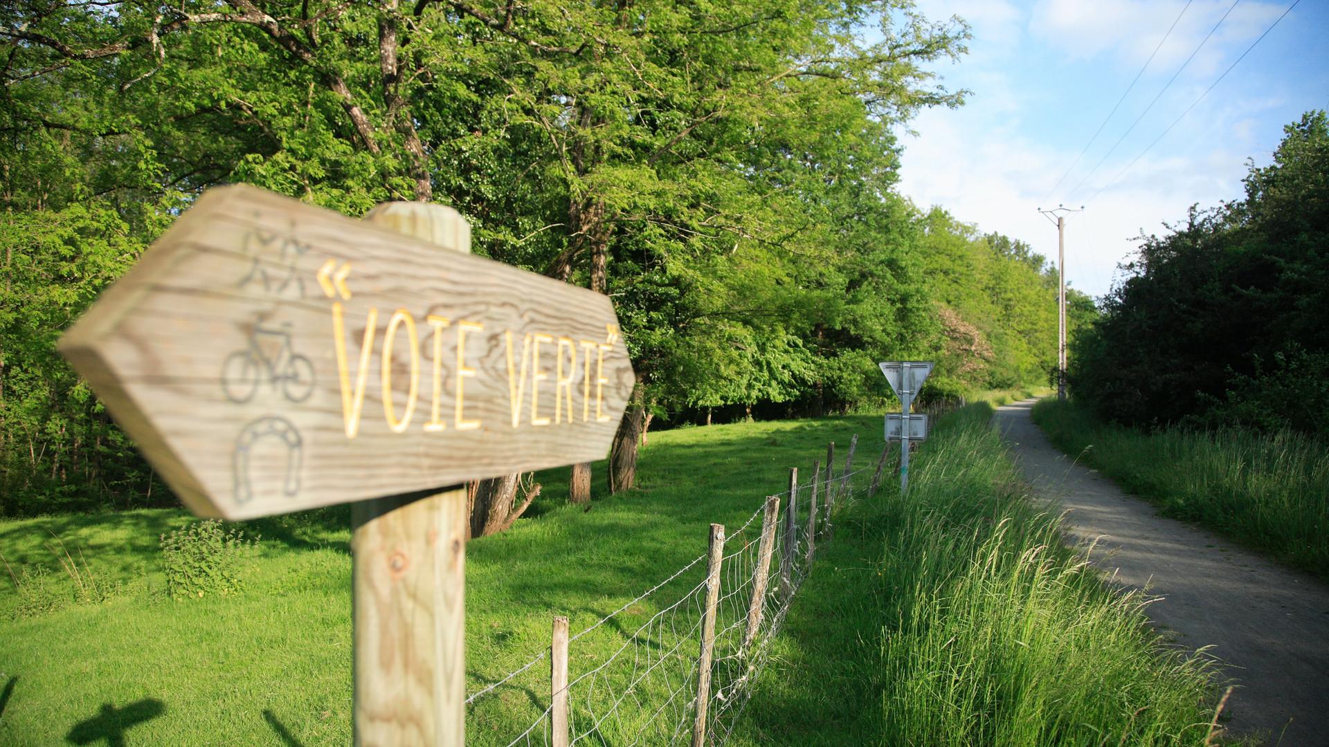 La voie verte au Pontet