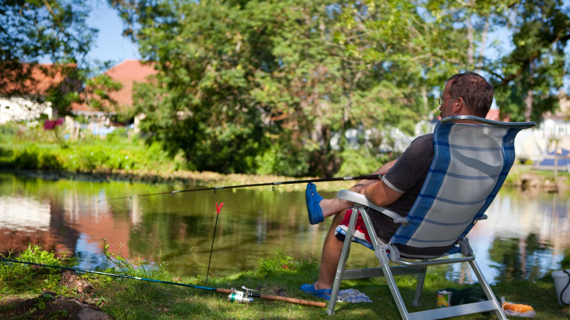 Pêcher au Pontet