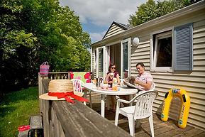 Mobile home Camping Le Pontet 3 étoiles dordogne