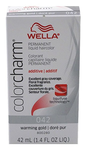 Wella Color Charm Permanent Liquid Hair Color Additive - 042 ...