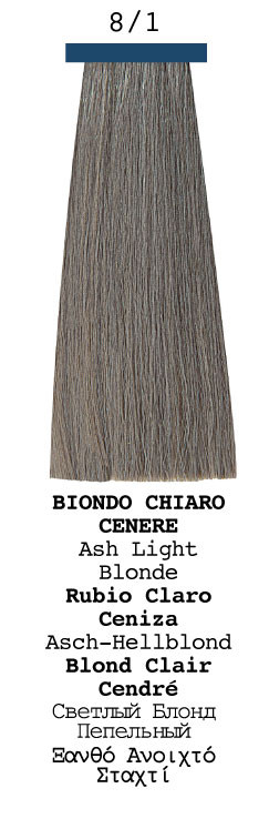 Elgon Moda Styling Hair Color 81 Ash Light Blonde