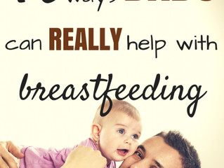 Breastfeeding duties for Dad