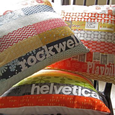 Type Geek pillows