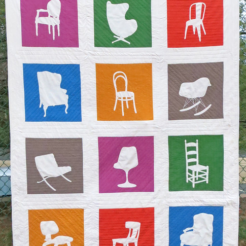 Take a Seat quilt