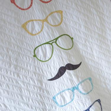 Hipster quilt