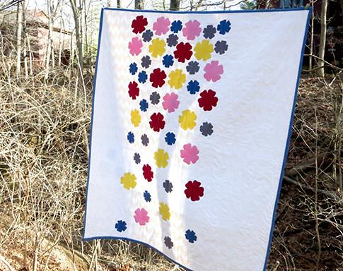 Flowerfall quilt