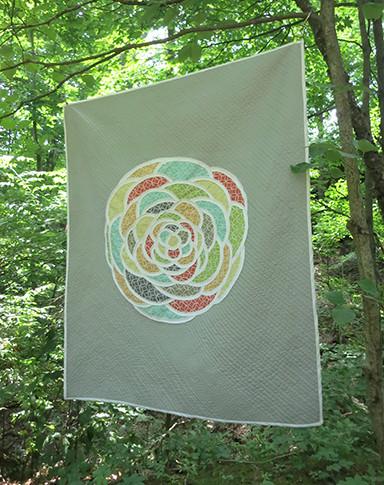 Rosette quilt