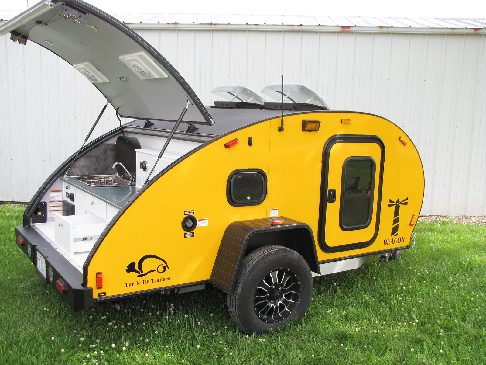 Turtle Up Trailers Teardrop Campers The Beacon Model