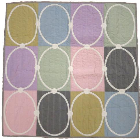 Gustavian baby quilt
